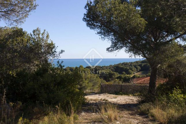 Land for sale in Sitges, Barcelona, Spain