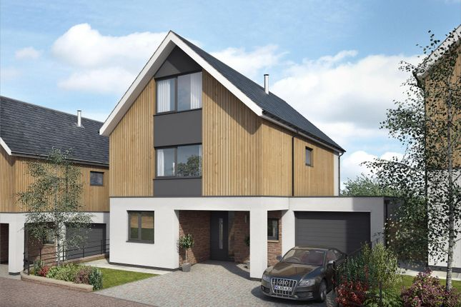 Thumbnail Detached house for sale in The Close, (Plot 1), Llangrove, Ross-On-Wye, Herefordshire