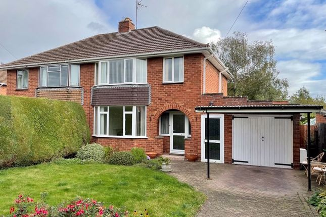 3 bed semi-detached house for sale in Seaton Avenue, Hereford HR1
