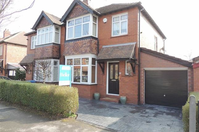 Thumbnail Semi-detached house for sale in Monfa Avenue, Woodsmoor, Stockport
