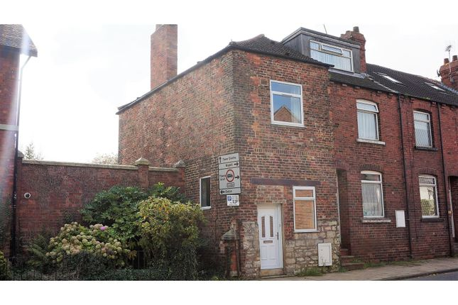 Thumbnail End terrace house for sale in York Road, Tadcaster