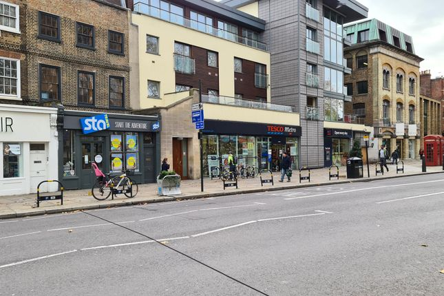 Retail premises to let in 24 Islington Green, London
