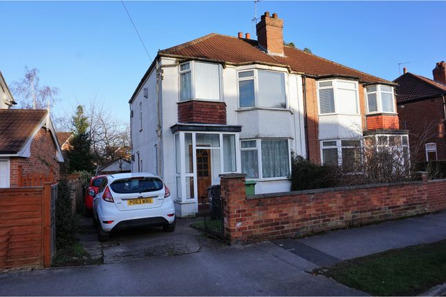 Thumbnail Semi-detached house for sale in Gledhow Park Avenue, Leeds