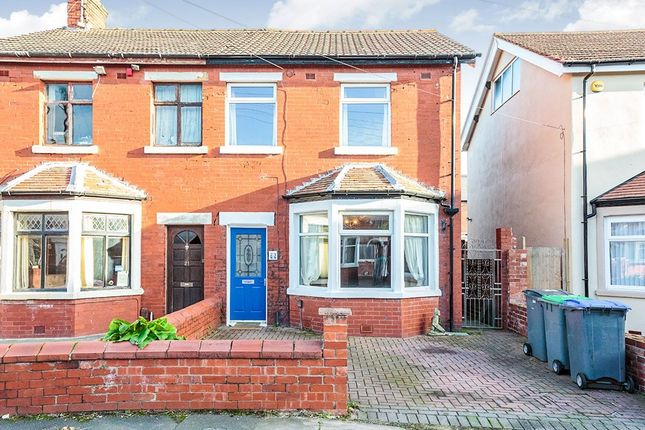 Thumbnail Semi-detached house to rent in Rangeway Avenue, Blackpool