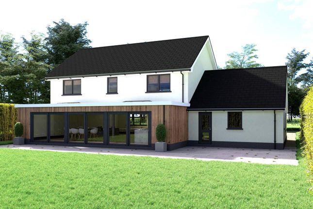 Thumbnail Detached house for sale in Brynhoffnant, Llangrannog, Llandysul