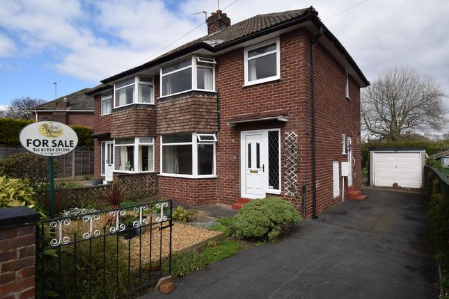Thumbnail Semi-detached house for sale in Eastwood Close, Durkar, Wakefield