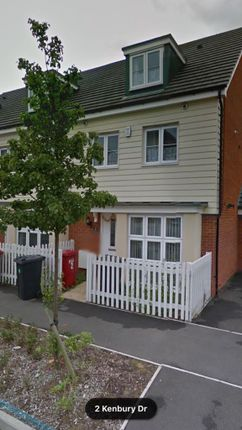Thumbnail Terraced house to rent in Kenbury Drive, Slough, Berkshire
