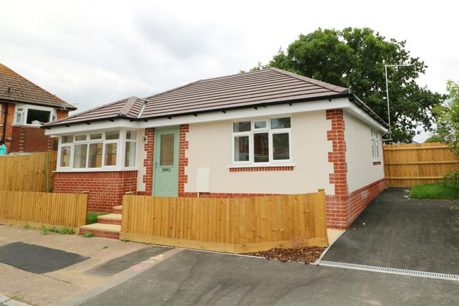 Thumbnail Detached bungalow for sale in Russel Road, Bournemouth