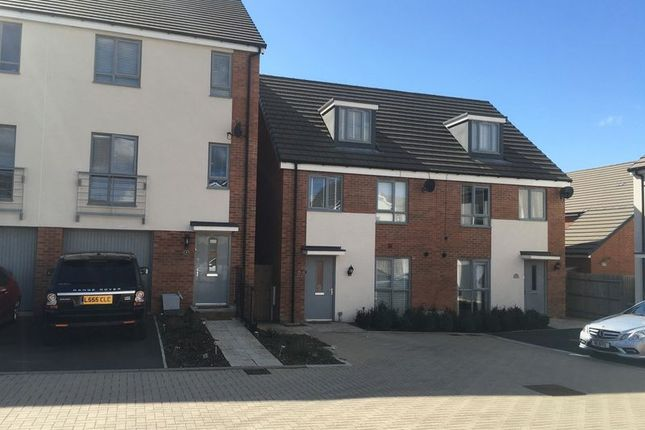 Thumbnail Semi-detached house to rent in Barnwood, Bristol
