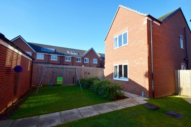 Thumbnail Detached house for sale in Yew Tree Close, Castlefields, Shrewsbury