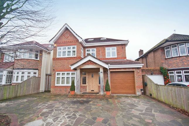 Thumbnail Detached house for sale in Rushdene Road, Pinner, Middlesex