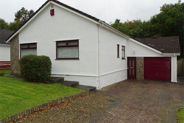 Thumbnail Detached bungalow for sale in 49 Hendre Park, Llangennech, Llanelli, Carmarthenshire