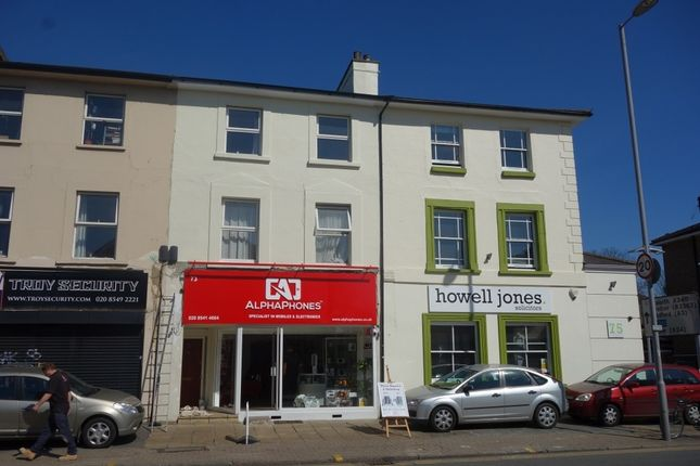 Thumbnail Maisonette to rent in Surbiton Road, Kingston