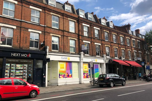 Retail premises to let in Upper Street, London