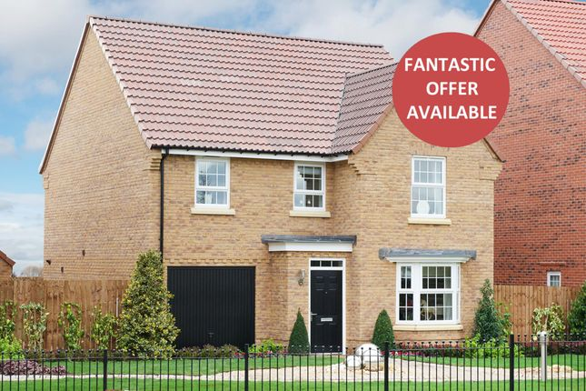 "Thumbnail Detached house for sale in ""Millford"" at Callow Hill Way, Littleover, Derby"