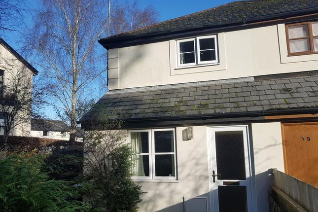 Thumbnail End terrace house for sale in Bossell Park, Buckfastleigh, Devon