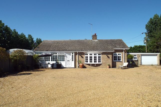 Thumbnail Detached bungalow for sale in Cambs, Willingham, Near Cambridge