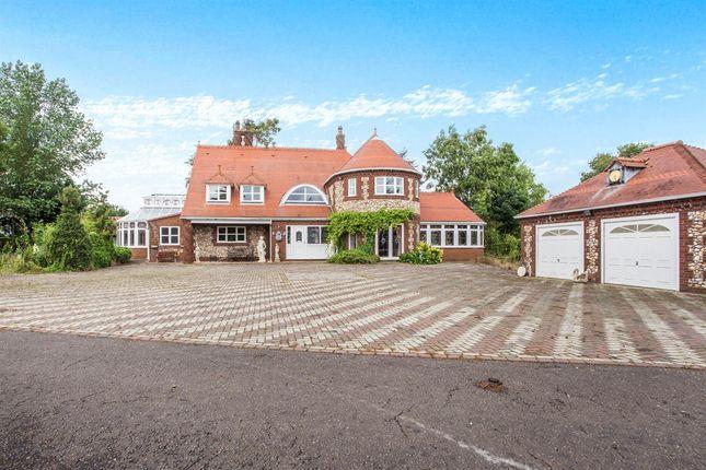 Thumbnail Detached house for sale in Thompsons Lane, Stoke Ferry, King's Lynn