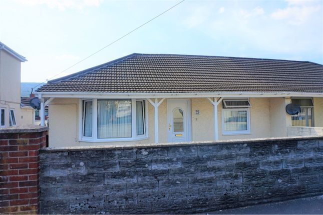 Thumbnail Bungalow for sale in Edward Street, Cwmgwrach