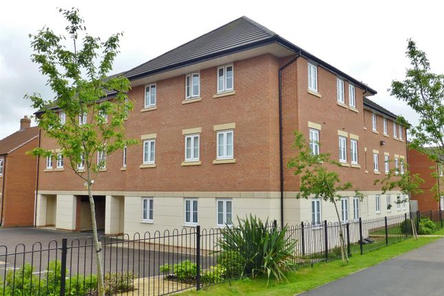 Thumbnail Flat for sale in John Clare Close, Oakham