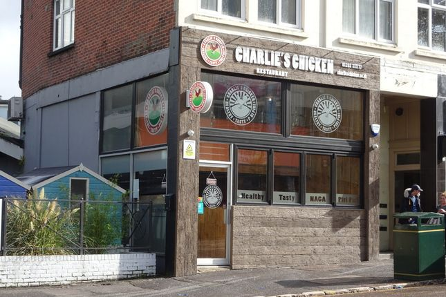 Thumbnail Restaurant/cafe to let in Exeter Crescent, Bournemouth