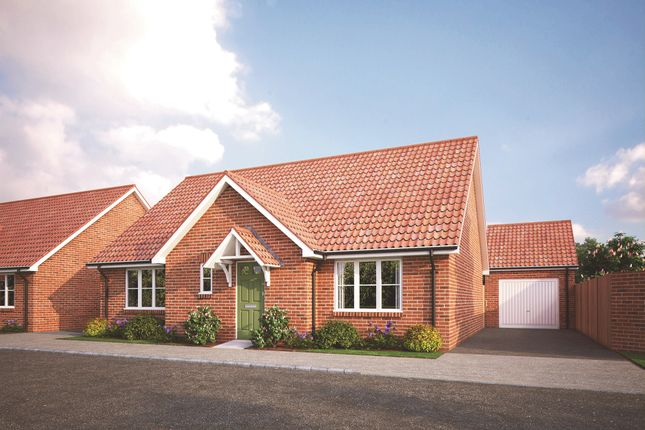 Thumbnail Detached bungalow for sale in March Road, Wimblington, March