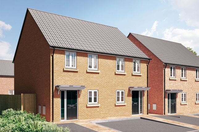 """2 bedroom semi-detached house for sale in """"The Warwick"""" at Stoney Haggs Road, Scarborough"""