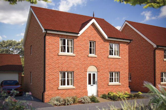 "Thumbnail Detached house for sale in ""The Ludlow"" at Foxhall Road, Ipswich"