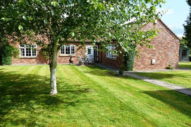 Thumbnail Detached bungalow for sale in Barleyfield Close, Heighington, Lincoln