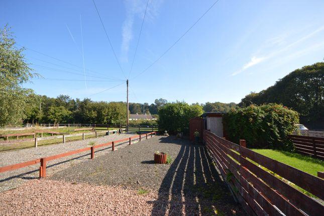 Garden of Quarry Place, Sauchie, Alloa, Clackmannanshire FK10