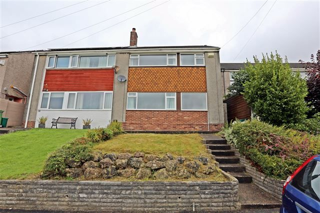 Thumbnail Semi-detached house for sale in Tonteg Close, Tonteg, Pontypridd