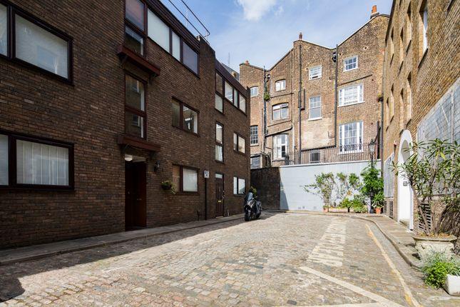 Exterior of Richardsons Mews, London W1T
