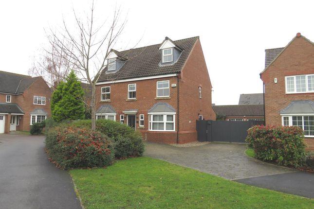 Thumbnail Detached house for sale in Lullingstone Crescent, Ingleby Barwick, Stockton-On-Tees
