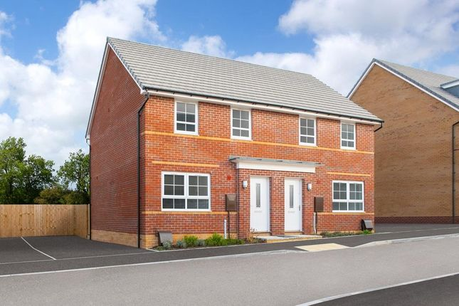 "3 bed semi-detached house for sale in ""Maidstone"" at Cae Brewis, Boverton, Llantwit Major CF61"