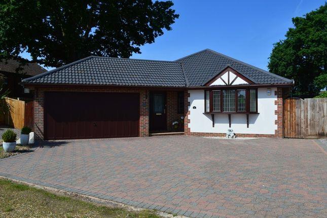 Thumbnail Detached bungalow for sale in Hilltop Road, Ferndown