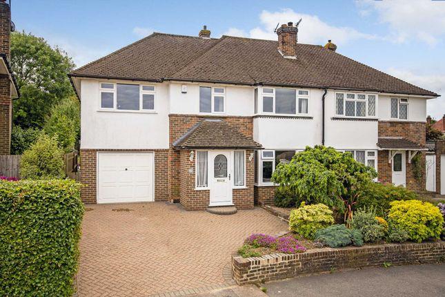 Semi-detached house for sale in Hillcrest, Southborough, Tunbridge Wells
