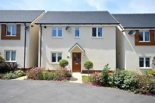 Thumbnail Detached house for sale in Coburg Crescent, Chudleigh, Newton Abbot, Devon