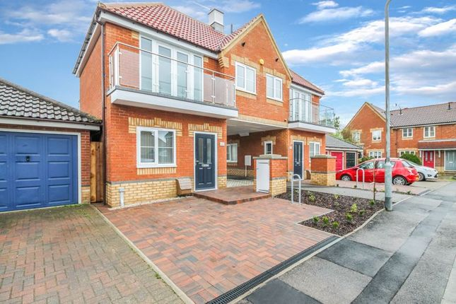 Thumbnail Semi-detached house for sale in Vine Close, Basildon