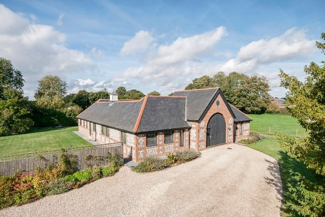 Thumbnail Detached house for sale in East Cholderton, Andover, Hampshire