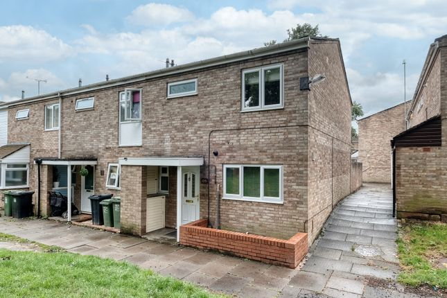 3 bed end terrace house to rent in Wishaw Close, Redditch B98
