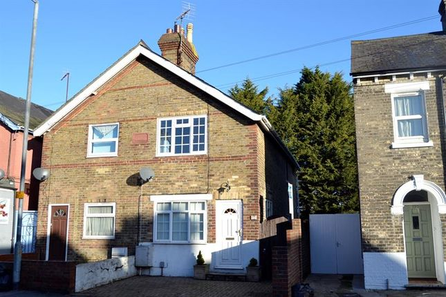 Thumbnail Semi-detached house for sale in Military Road, Colchester