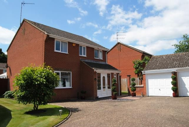 Thumbnail Detached house for sale in Springwood, Kings Lynn, Norfolk