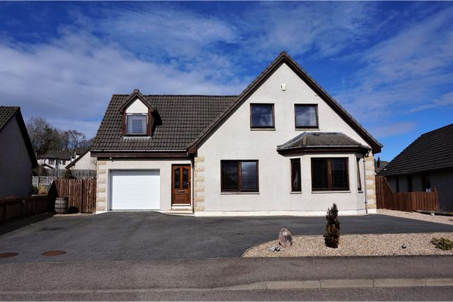 Thumbnail Detached house for sale in Telford Gardens, Dingwall