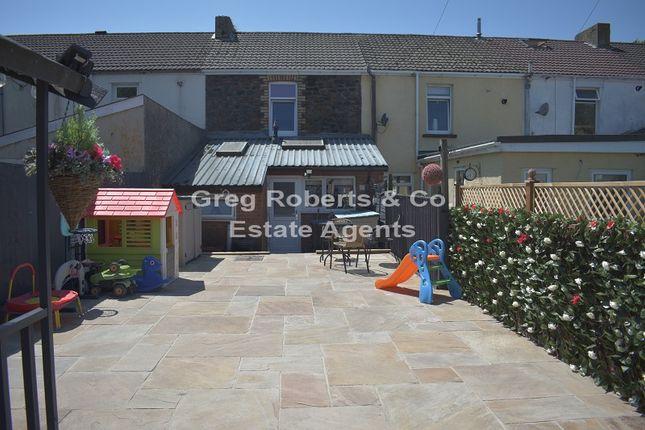 Thumbnail Terraced house for sale in Glyn Terrace, Tredegar, Blaenau Gwent.