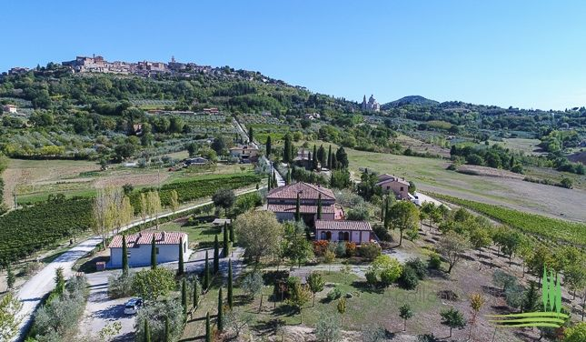 Thumbnail Country house for sale in Casale Ginestra, Montepulciano, Siena, Tuscany, Italy