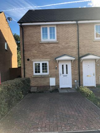 Thumbnail End terrace house to rent in Clos Ael-Y-Bryn, Penygroes, Llanelli