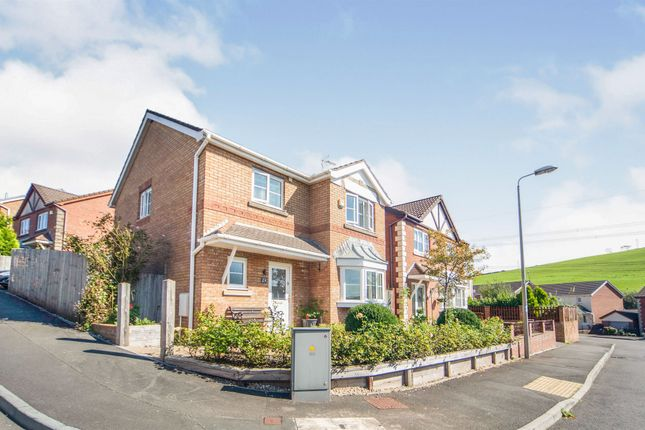 Thumbnail Detached house for sale in The Meadows, Tonyrefail, Porth