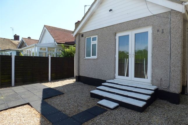 Thumbnail Detached bungalow for sale in Meadow Way, Jaywick, Clacton-On-Sea, Essex