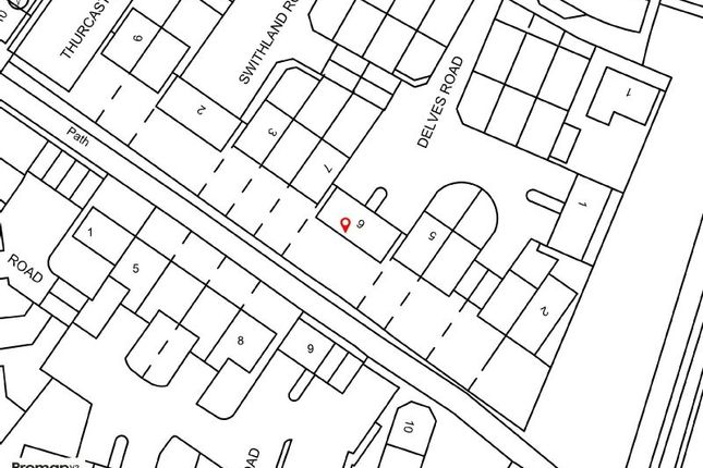 Site Plan of Delves Road, West Timperley, Altrincham WA14