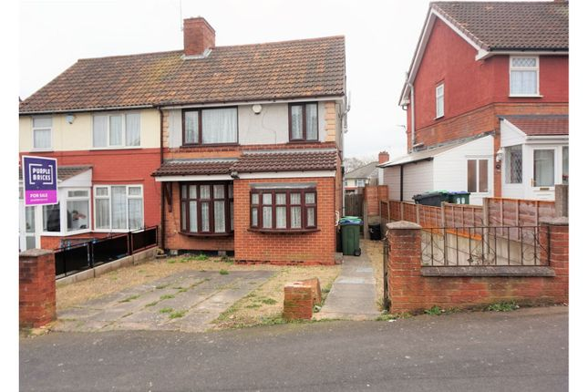 Thumbnail Semi-detached house for sale in The Oval, Smethwick